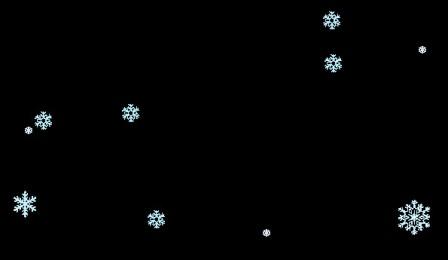 Эффект падающего снега