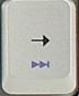 один трек вперёд в Windows Media PlayerE.
