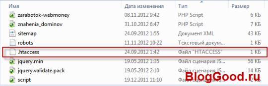 что такое файл htaccess