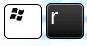"нажмите сочетание клавиш ""Win + R"""