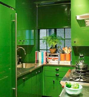 Холодные цвета-зеленый
