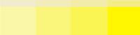 Теплые цвета -желтый