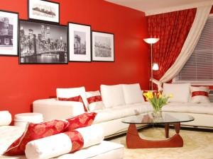 Теплые цвета-красный