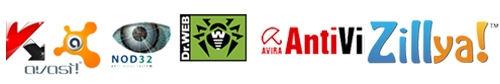 Описание самых популярных антивирусов - (антивирус касперского, avast, nod32, dr web, авира, Zillya)