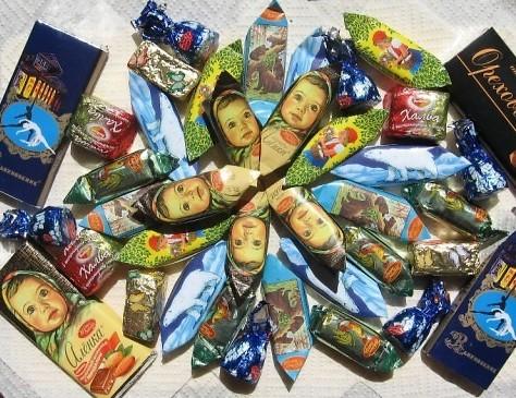 Ностальгия по СССР. конфеты