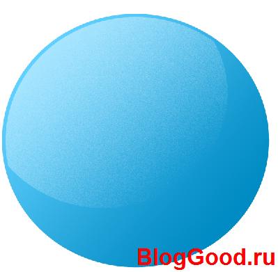 Как нарисовать стеклянный шар в фотошопе?
