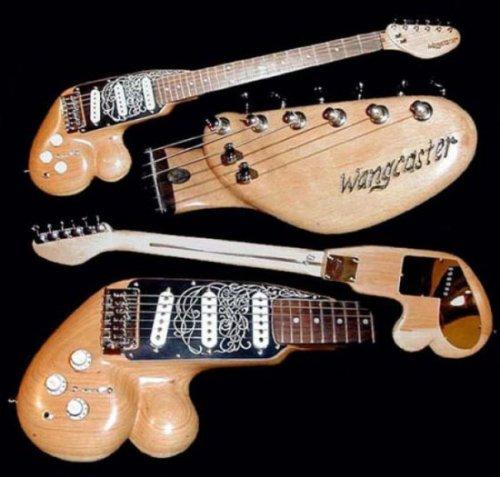 Прикольные и до ужаса смешные фотографии гитар