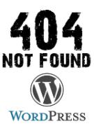 Как создать простую страницу ошибки 404 на Wordpress