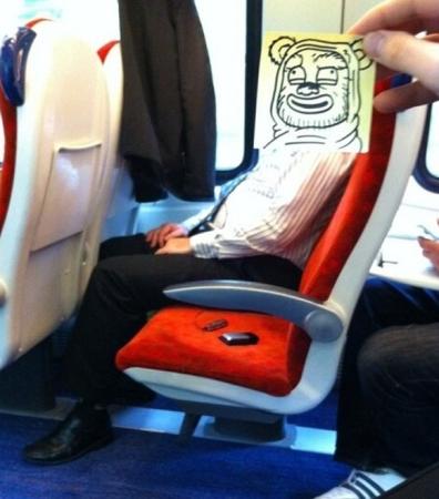 Как развлечь себя в поезде? Иллюстратор Октобер Джонс (October Jones)
