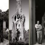 Скульптуры из живых деревьев