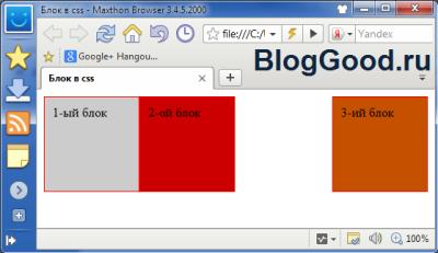 Плавающие блоки в CSS (свойство float)