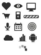 Бесплатный набор CSS-иконок для сайта/блога. Коллекция №1