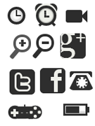 Бесплатный набор CSS-иконок для сайта/блога. Коллекция №2