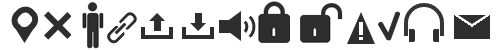 Бесплатный набор CSS-иконок для сайта/блога. Коллекция №3