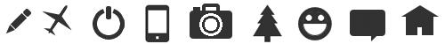 Бесплатный набор CSS-иконок для сайта/блога. Коллекция №4