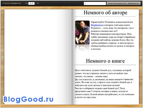 Бесплатная книга от автора блога «5 тезисов, которые помогут достичь любых целей!»