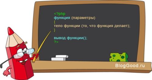 Функции (function) на PHP. Урок 10