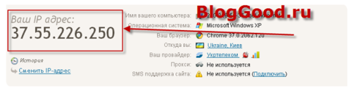 Как вывести IP-адрес посетителя на сайте с помощью PHP