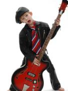 Расположение нот на грифе гитары и бас гитары.