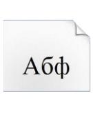 Установка шрифтов в фотошоп.