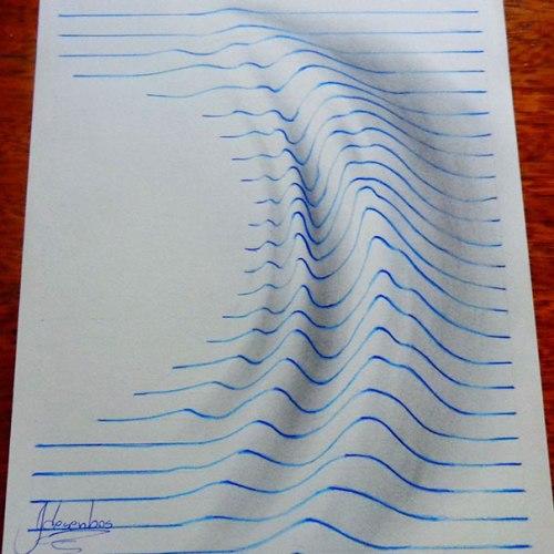 3-D рисунки 15-летнего художника Жоао Карвальо (João Carvalho)