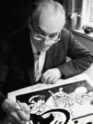 Рисунки-комиксы художника Херлуфа Бидструпа