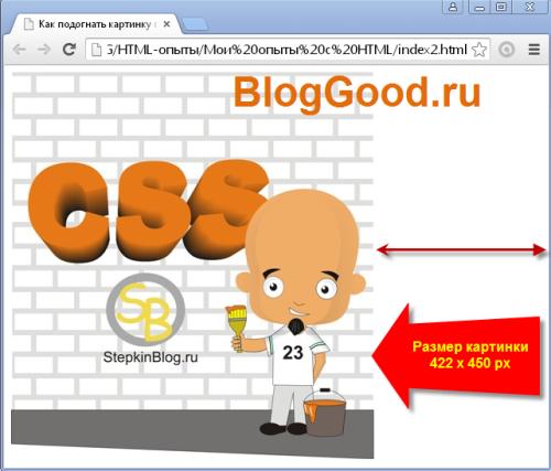 Как подогнать картинку под размер экрана с помощью CSS