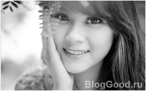 Как сделать черно-белое фото в программе фотошоп?
