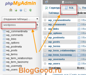 5 простых шагов для смены префикса «wp_» в таблицах БД для WordPress