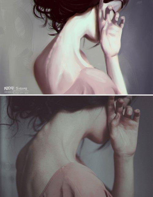 Художник Хулио Сезар (Julio Cesar) иллюстрации с фотографии