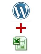 Как вставить или импортировать таблицу excel на Wordpress