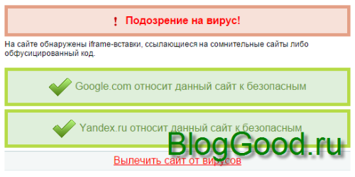 Для владельцев блогов на WordPress! У вас на сайте обнаружен ВИРУС (iframe-вставки)!