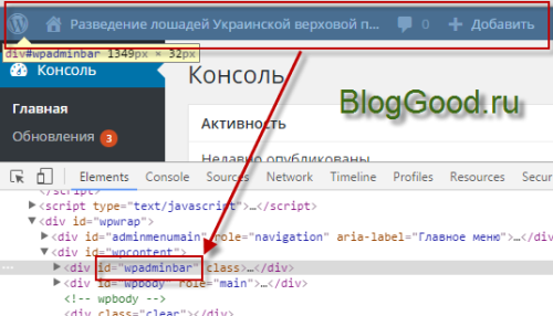 Как изменить цвет в админ-панели WordPress