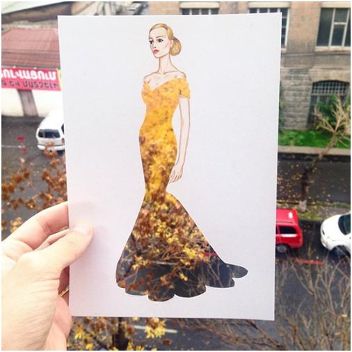 Потрясающие платья художника Эдгара Артиса