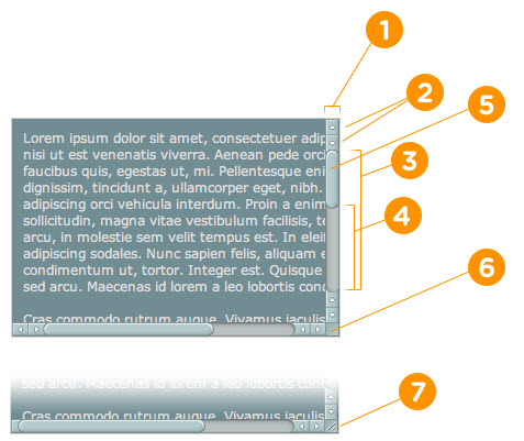 Изменить полосу прокрутки на CSS