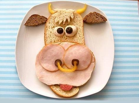 Фото креативных бутербродов
