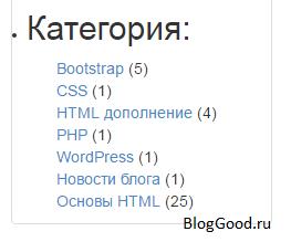 Как убрать скобки в записи количества постов на WordPress