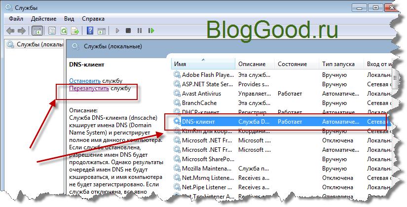 Как очистить DNS кэша на Windows