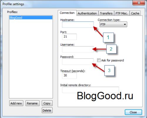 Редактор Notepad++ и FTP соединение