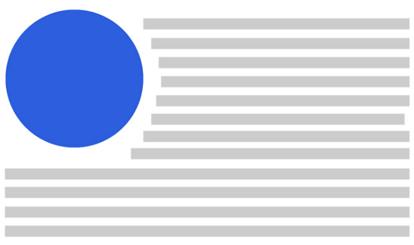 Обтекание текста вокруг изображения с помощью CSS