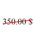 Как зачеркнуть цену по диагонали (наискось)?
